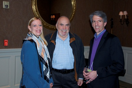 Elise Burke, Maurice (Mitch) Freedman, and Terry Kirchner